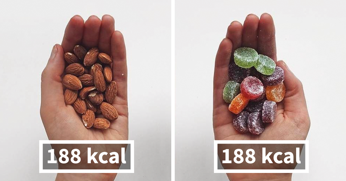 Fitness Blogger Shares Food Comparisons To Change The Way You Think About Food – Do You Agree With Her?
