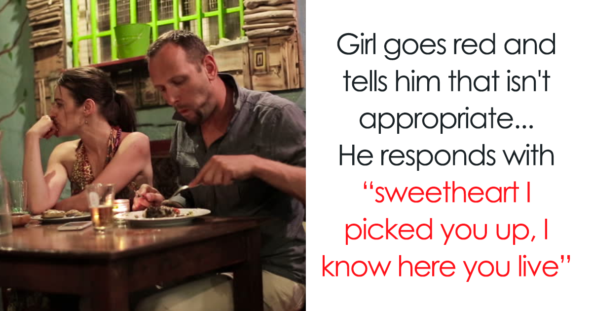 Off Duty Cop Overhears Conversation Of Guy Threatening His Date In Restaurant, Decides To Step In