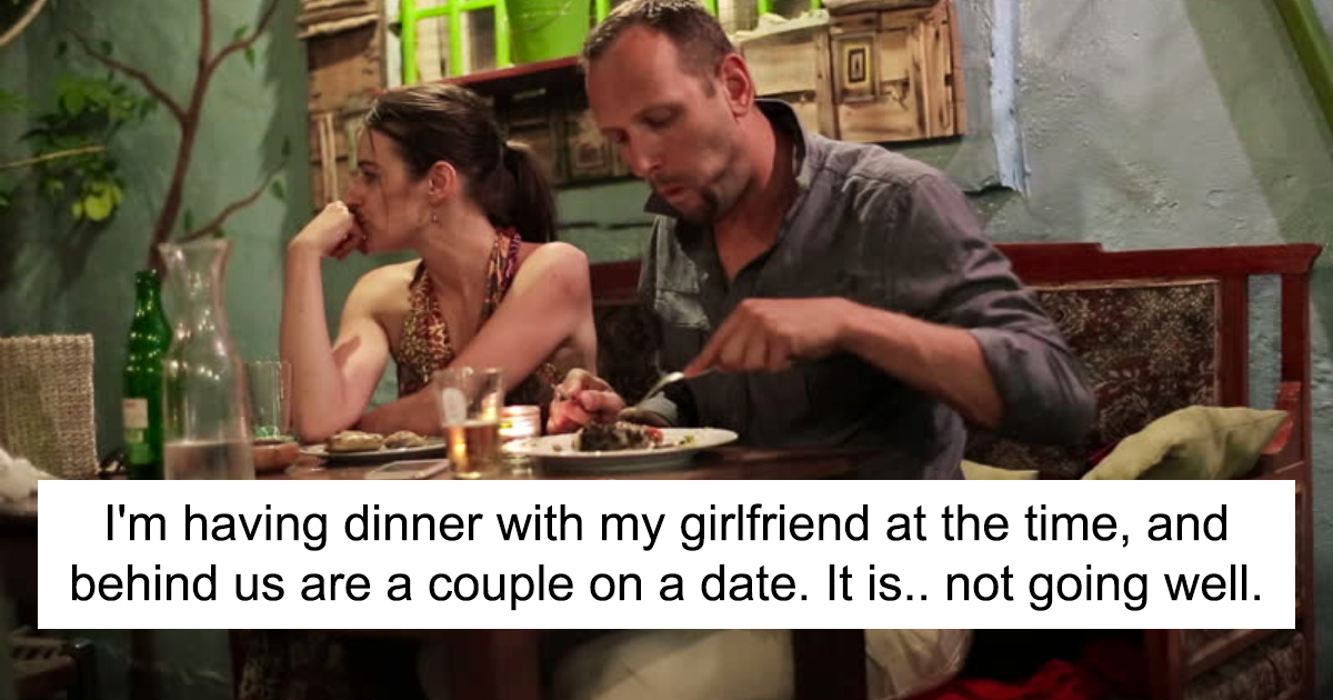 Guy Overhears Conversation Of Man Threatening His Date, Stands Up? But Everything Takes Unexpected Twist