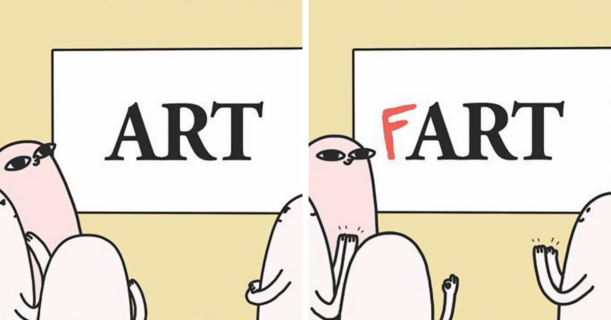 Funny Funny Funny Comics: 10+ Hilarious Comics By 18-Year-Old Artist