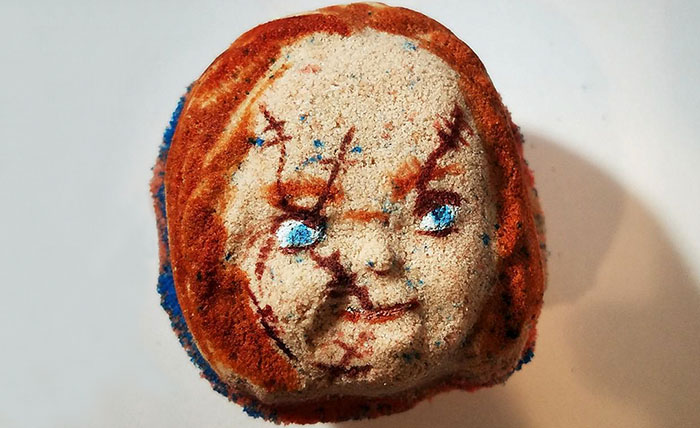 These Bath Bombs Are Inspired By Scary Movies And You Won't Want To Bathe Alone With Them