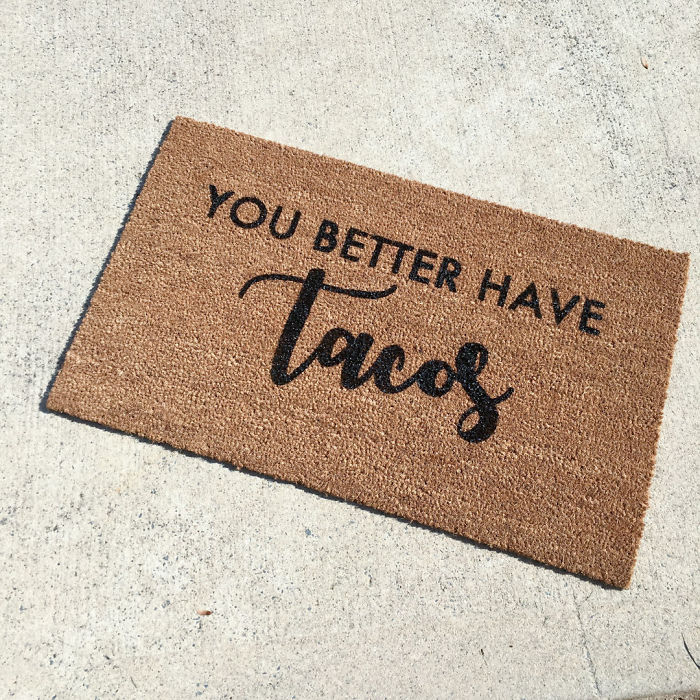 Tacos Doormat