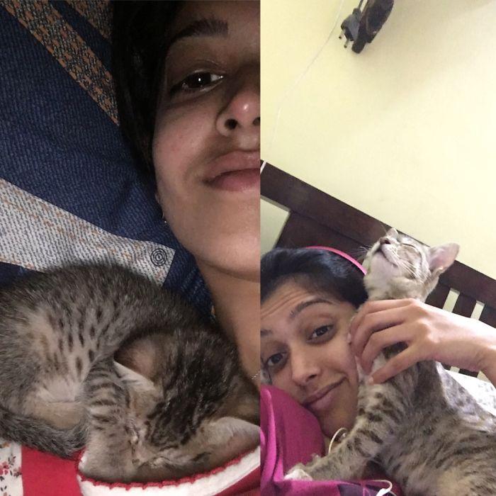 She Still Loves Cuddling