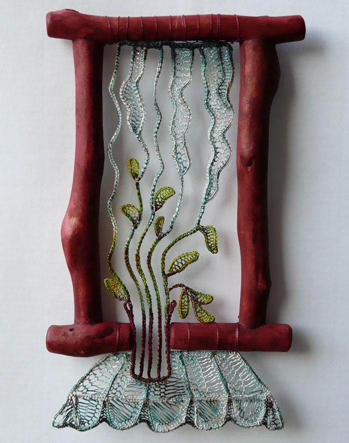 Lace-embroidery-art-sculpture-agnes-herczeg