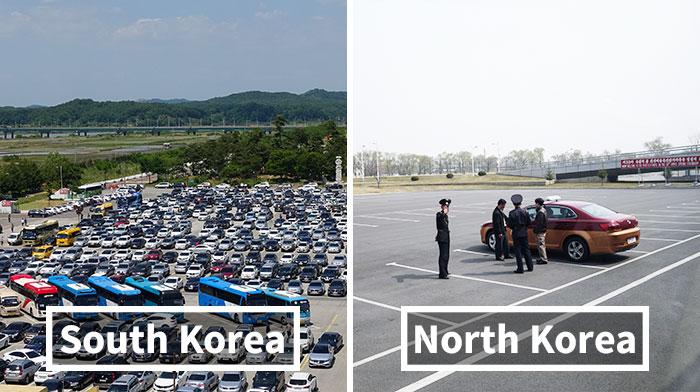 Life In South Korea Vs. North Korea