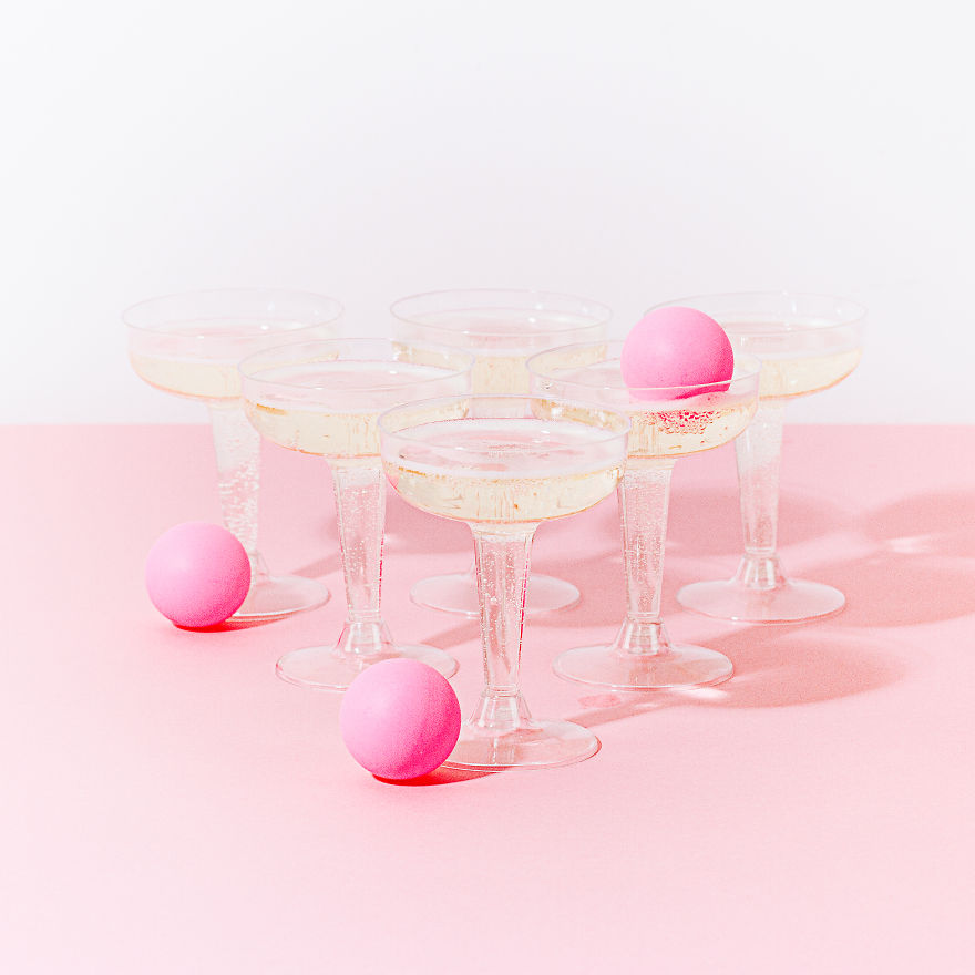 Prosecco Pong Is Here To Make Your Drinking Game Antics Stylish And Classy