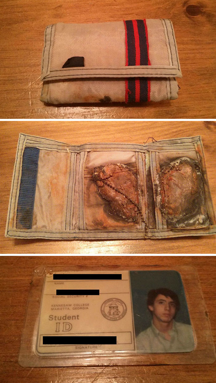A Good Samaritan Found The Wallet I Lost In The Ocean. 24 Years Ago