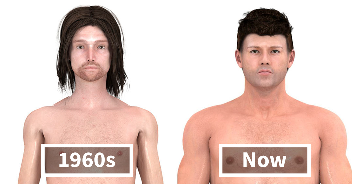 This Is How Male Body Ideals Have Changed Over Time Bored Panda