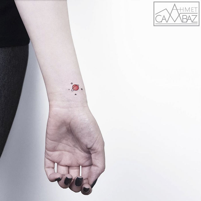 10+ Simple Yet Striking Tattoos By Former Turkish Cartoonist That You'll Want On Your Skin