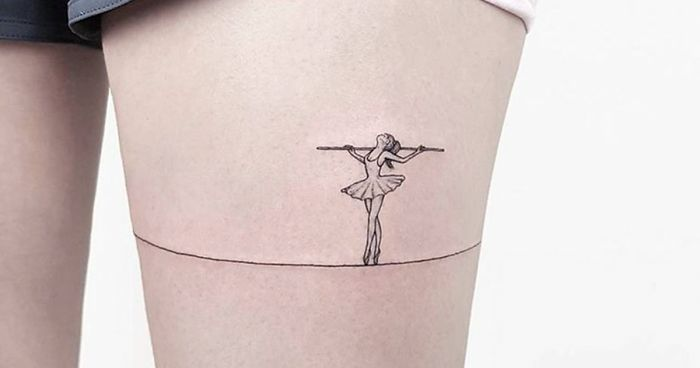 fbbb89e30 74 Simple Yet Striking Tattoos By Former Turkish Cartoonist That You'll  Want On Your Skin