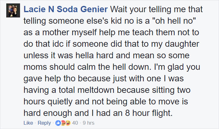 Woman's Reaction To Crying Baby On Plane Goes Viral, Shows Why People Who Complain About It Are The Worst