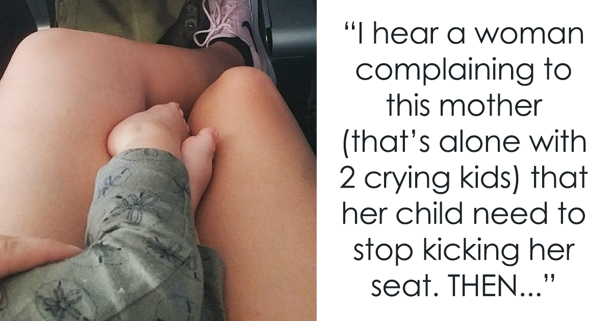 Woman's Unexpected Reaction To Crying Baby On Plane Goes Viral, And Everyone Must Read It