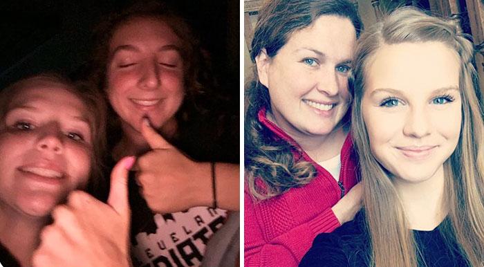 El truco genial de selfies de esta madre se vuelve viral, y seguro que los niños ya la odian
