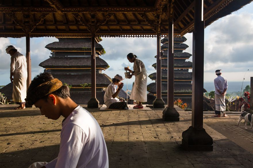 Honorable Mention, People: Blessings At Besakih, Bali