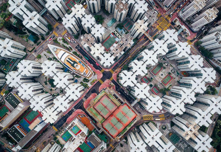 Second Place Winner, Cities: Walled City #08, Hong Kong