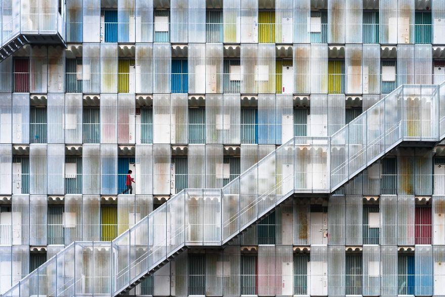 Honorable Mention, Cities: Colorful Apartment, Kitagata, Gifu, Japan