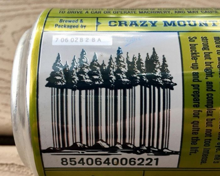 The Barcode On This Beer