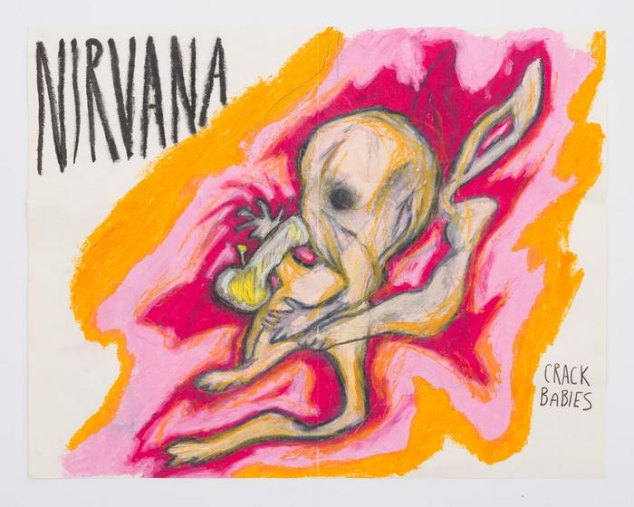 never-before-seen-kurt-cobain-paintings-nirvana -9