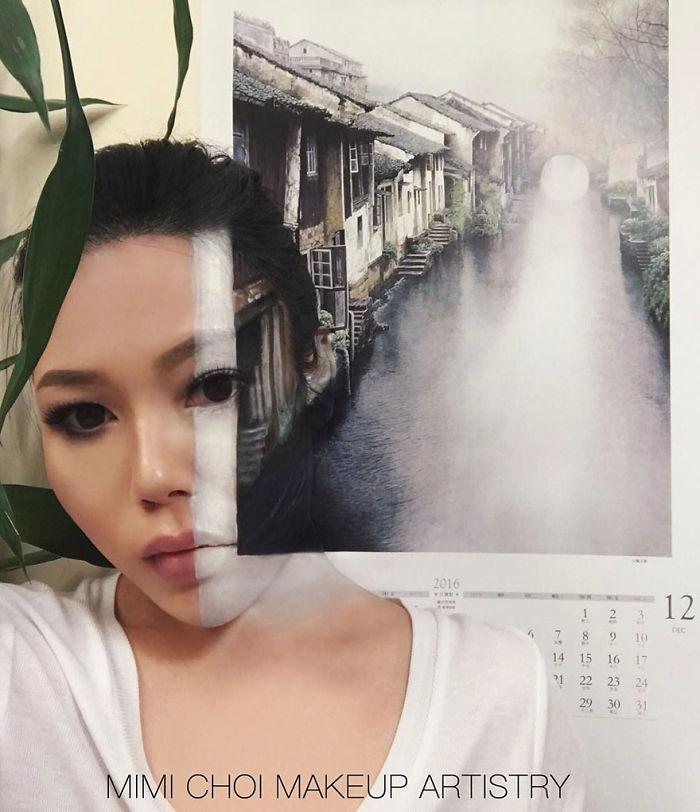 Optical-illusion-make-up-mimi-choi