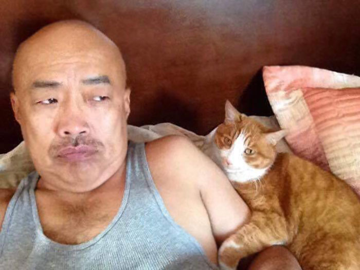 My Dad Hates Cats. He Just Sent Me This While Babysitting My Cat