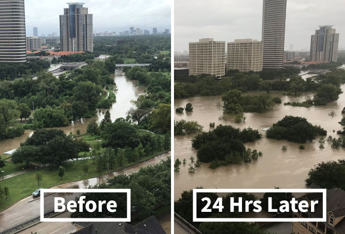 10+ Powerful Photos From Hurricane Harvey That Show The Devastating Power Of Nature