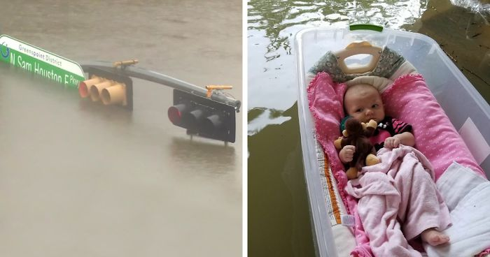 10 powerful photos from hurricane harvey that show the devastating power of nature bored panda