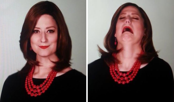 Taking My Latest Newsroom Headshots This Morning. They Caught Me Mid Sneeze. I Just Knew It Belonged Here