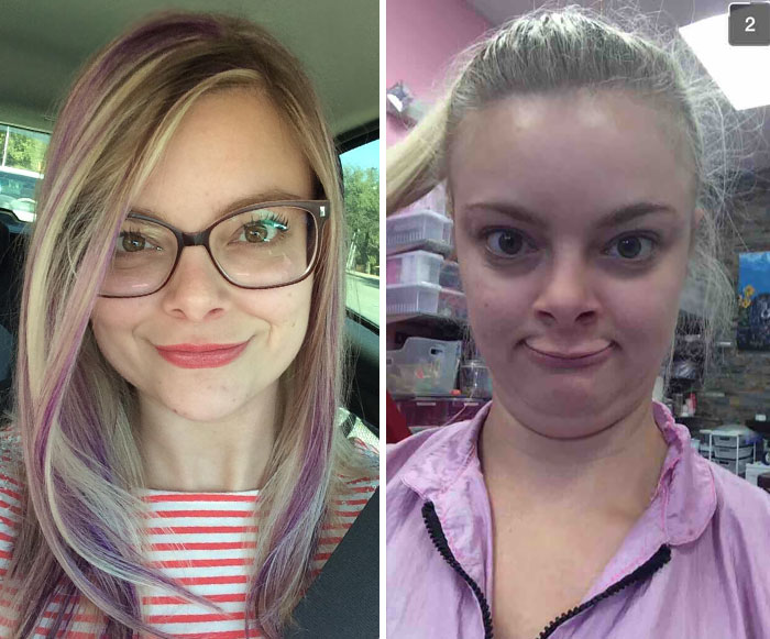 My Sister And I Have Snapchat Face Wars. She Won