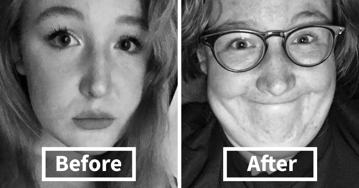 Before After Pics That You Wont Believe Show The Same Girls Bored Panda