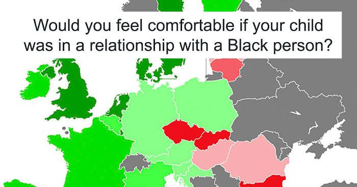 Countries with most interracial couples