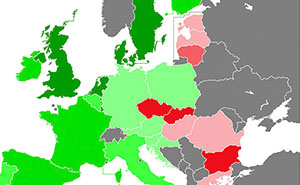 Maps Reveals Europe's Most Racist Countries, And You Won't Like It