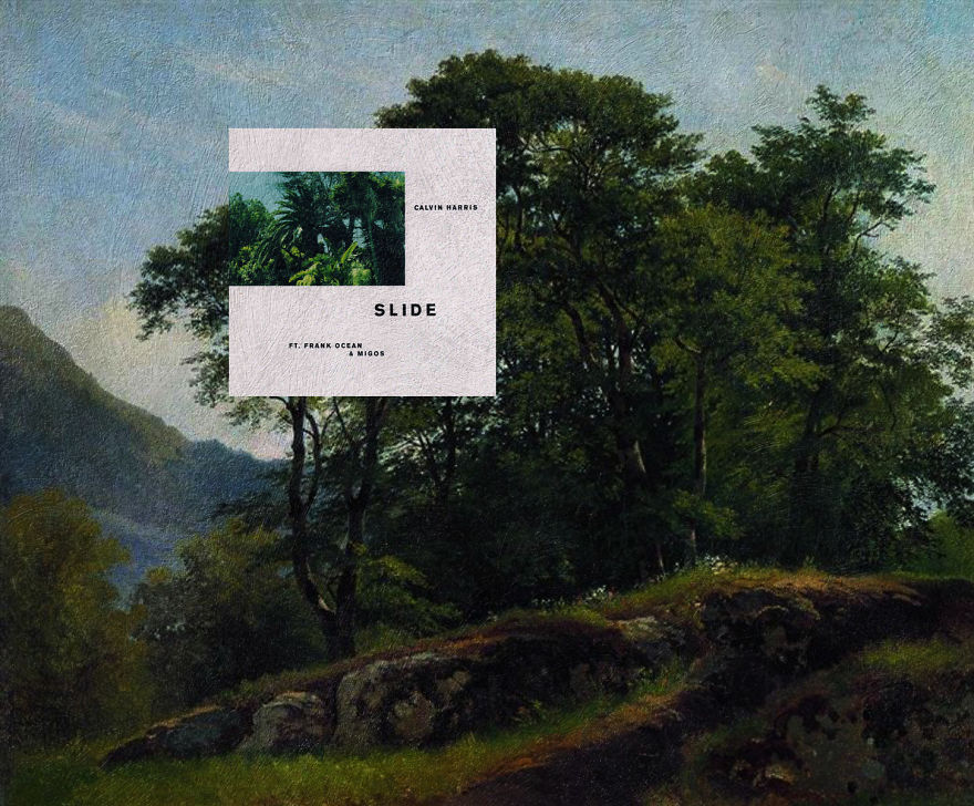Slide By Calvin Harris Ft Frank Ocean And Migos + Beech Forest In Switzerland By Ivan Shishkin
