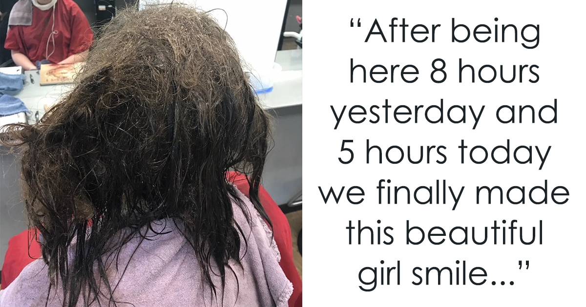 Hairdresser Refuses To Shave Depressed Teens Hair Spends 13 Hours