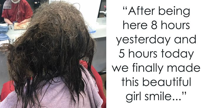 Hairdresser Refuses To Shave Depressed Teen S Hair Spends