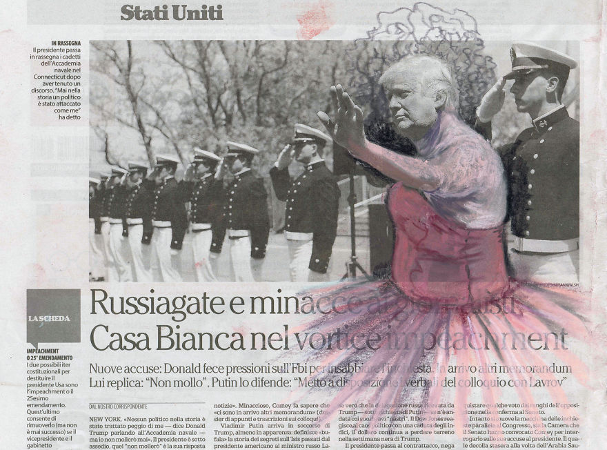 Ballet Russe - Russiagate | La Repubblica | Series Part II | Subseries Degas Revisited