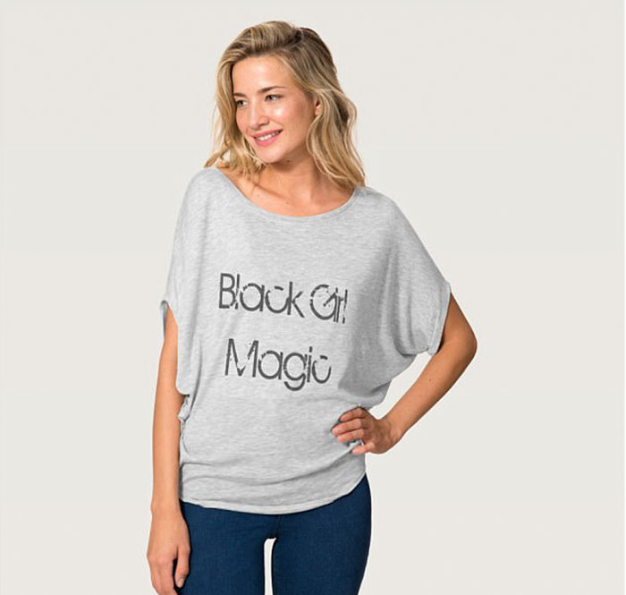 b480985c4e6 Company Uses White Models To Sell 'Black Girl Magic' T-Shirts, And