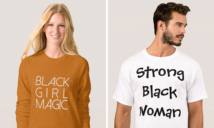 Company Uses White Models To Sell 'Black Girl Magic' T-Shirts, And Here's How Internet Reacts