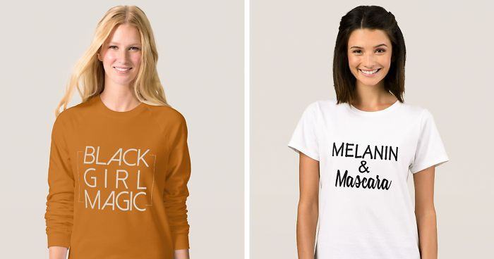 02a1b40d Company Uses White Models To Sell 'Black Girl Magic' T-Shirts, And Here's  How Internet Reacts