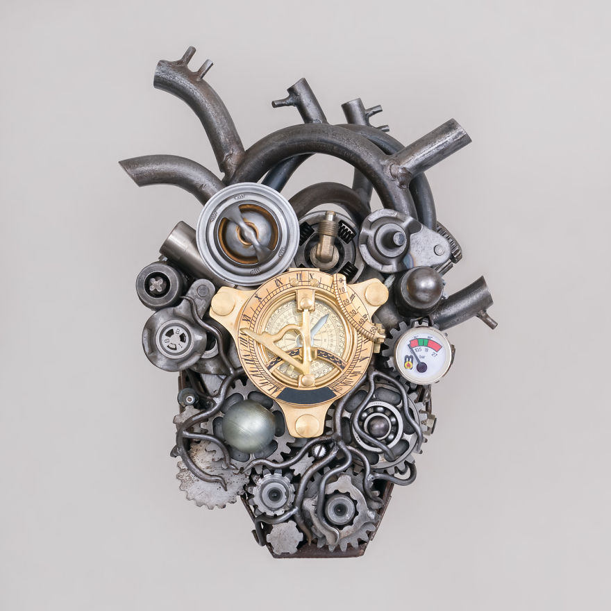 The Art Of Recycling Teodosio Sectio Aurea Grants A New Heart To