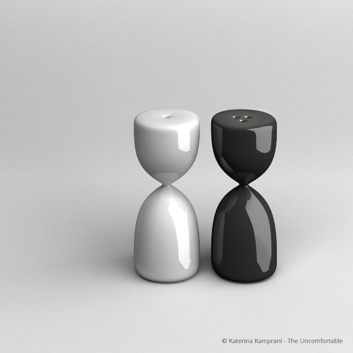 Hourglass Salt & Pepper Shakers