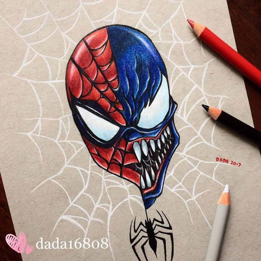 Spidy Vs Venom