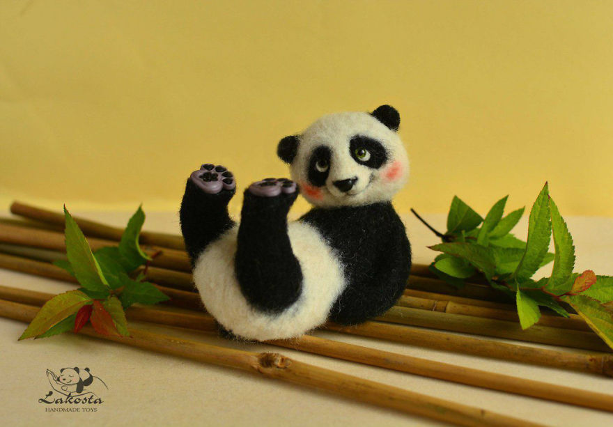 Cutest Felted Toys Ever By Lakosta
