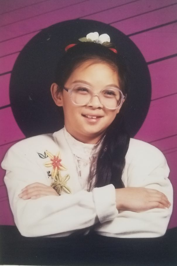My Poor Sister In 4th Grade. She Was A Full Blown Nerdy Librarian