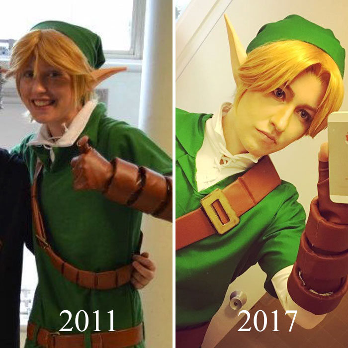 These Cosplayers Are Showing Their Evolution In Instagram