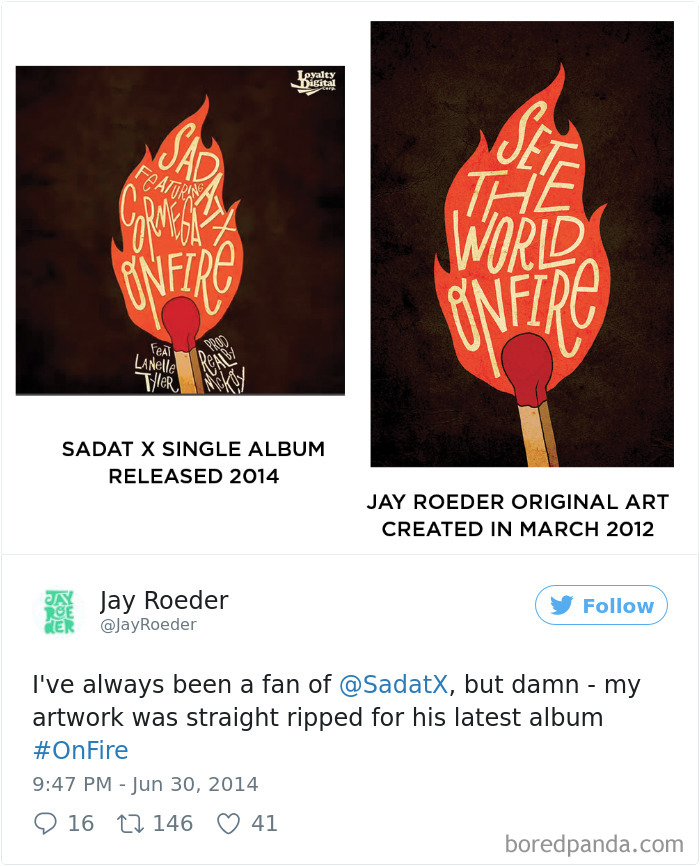 Band Rapper Sadat X Released An Album With Artist's Jay Roeder Artwork On It Without His Permission