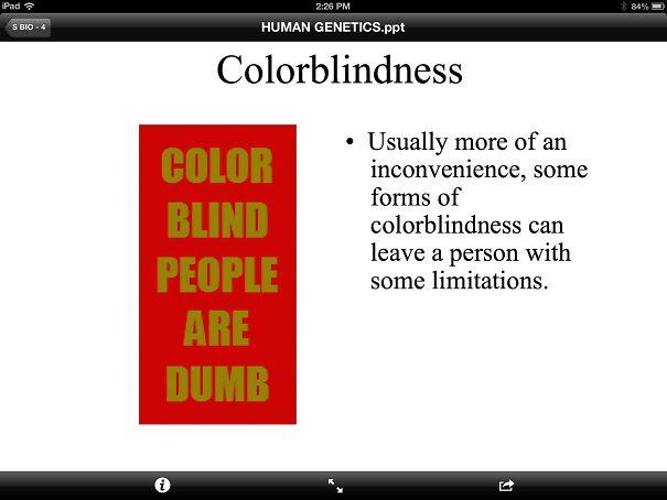 My Biology Teacher's Slide Notes