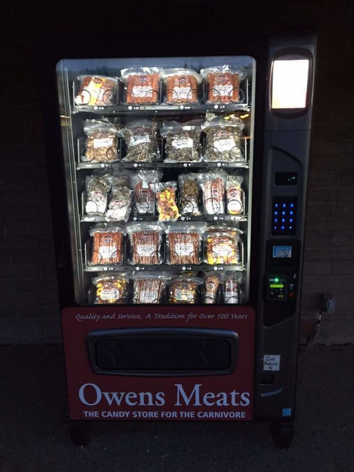 My Local Butcher Shop Has A Meat Vending Machine