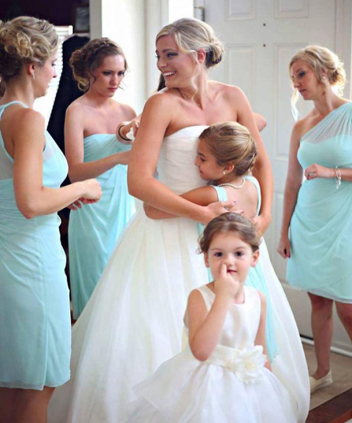 El mejor photobomb en una boda