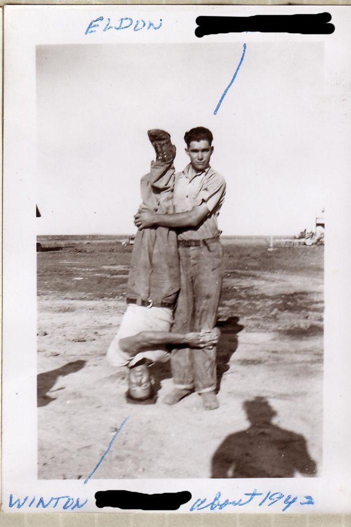 My Father And His Best Friend Just Before They Went Overseas In Wwii