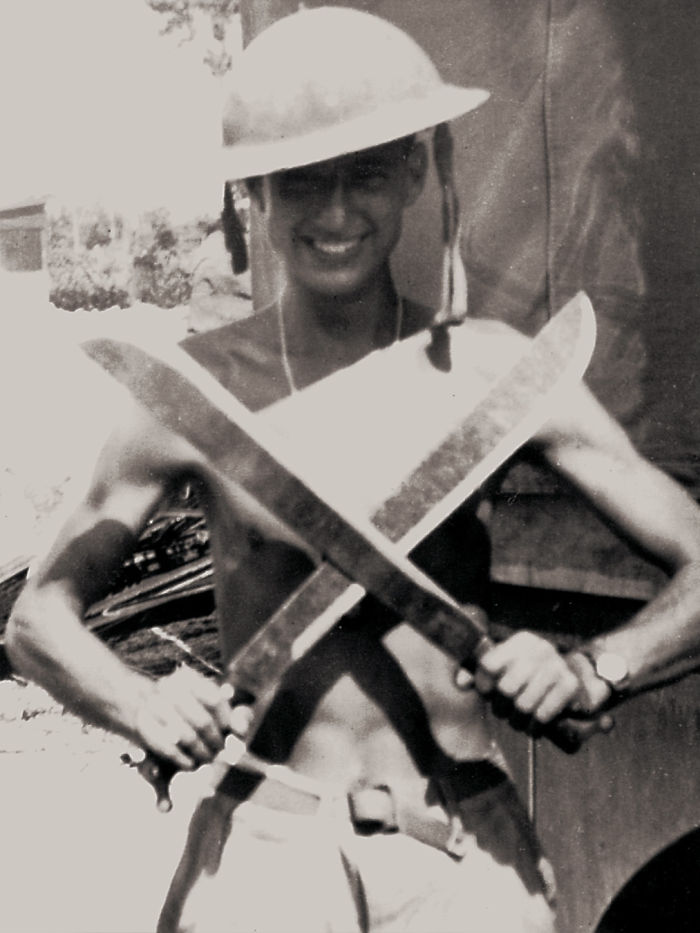 My Dad In The South Pacific Circa 1945